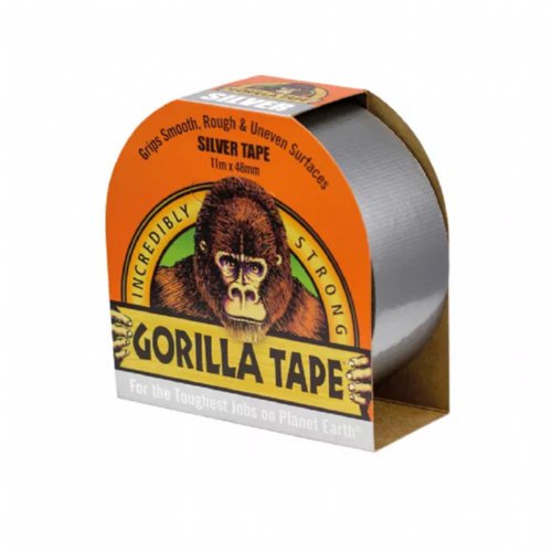 Gorilla 3044910 Tape Silver 48mm x 11m